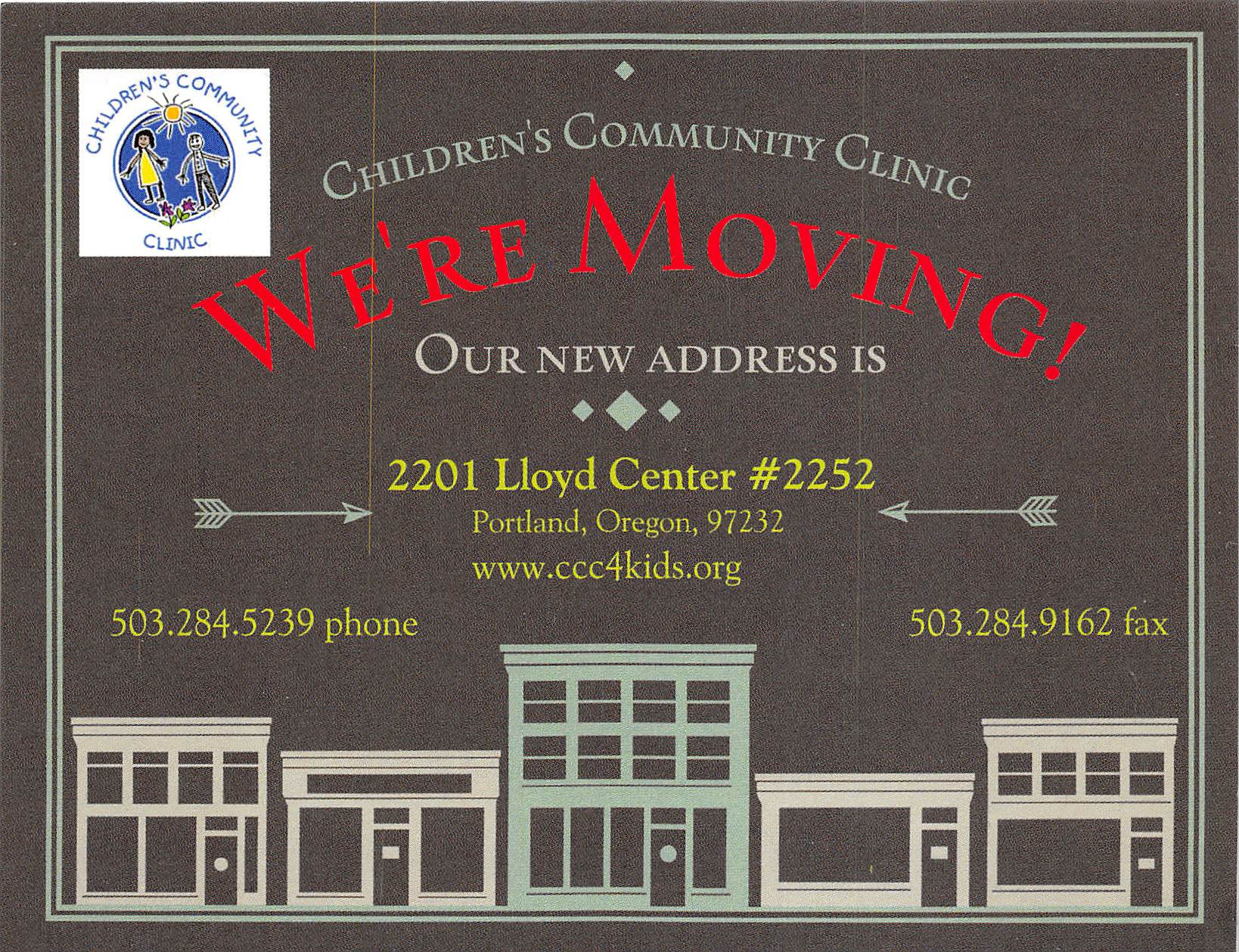We're Moving!! New Location